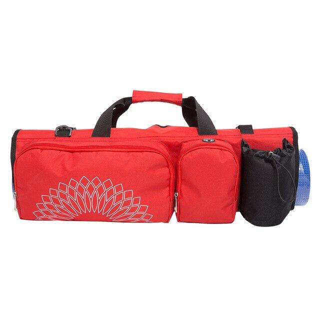 Бесплатная Доставка Yoga Mat Bag with Open Ends, Карман для мобильного и Держатель Для Бутылки с Водой-Держит Ваш Коврик Сухой и Без Запаха