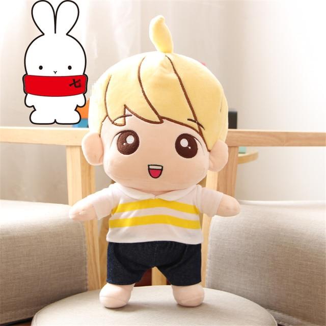 "[PCMOS] 2017 New KPOP Infinite Nam WooHyun Childhood 14"" Handmade Plush Toy Stuffed Doll Fan Gift  Arcade Prizes 16071206"
