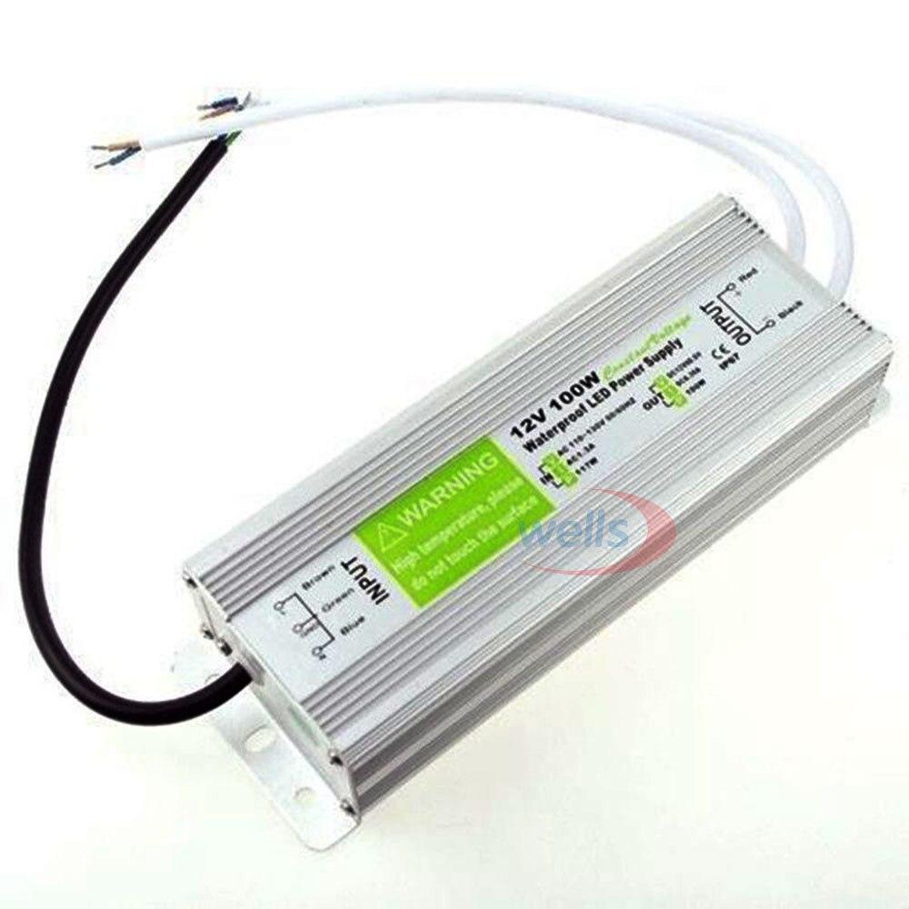LED драйвер Ac dc 12V / 24V10W 15W 20W 25W 30W 36W 45W 50W 60W - Аксесоари за осветление - Снимка 5