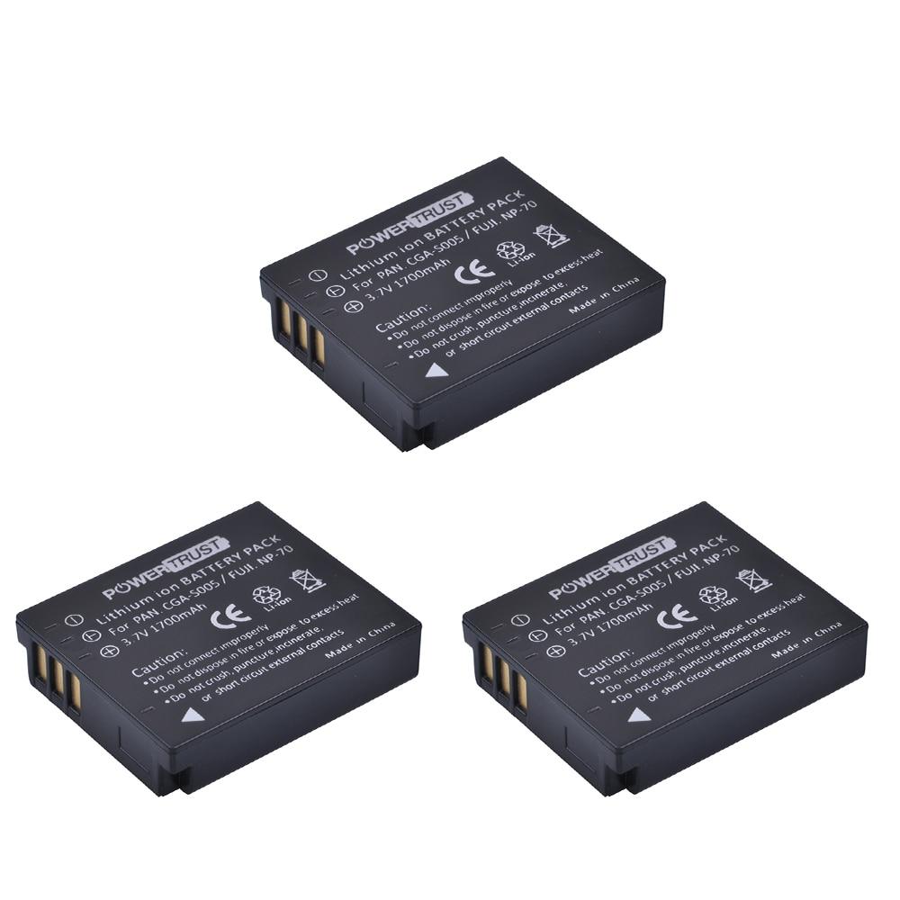 Batería para Panasonic Lumix DMC-FX8 FX9 FX10