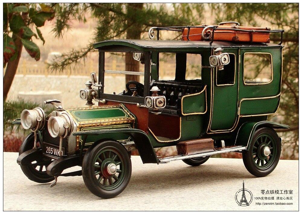 Manual metal retro furnishings British car model classic cars model ...