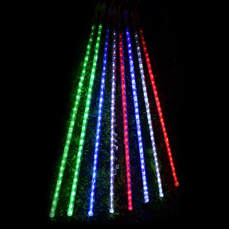 Lmid 50cm Meteor Rain Tubes Christmas New Year Decoration Lights Led Lamp AC100 240V Outdoor Holiday