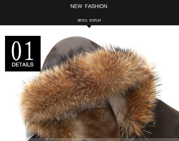 20  2018 new winter men's jacket high quality fur collar coats windproof warm jackets man casual coat clothing