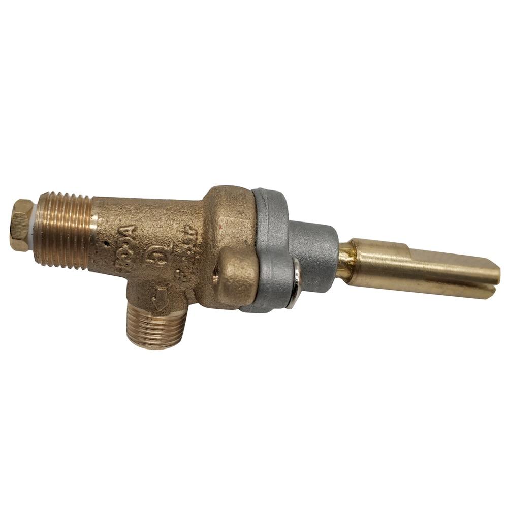Lareira a gás/firepit/grill não-segurança de baixa pressão da válvula de controle de bronze tamanho do bico 1.0 milímetros