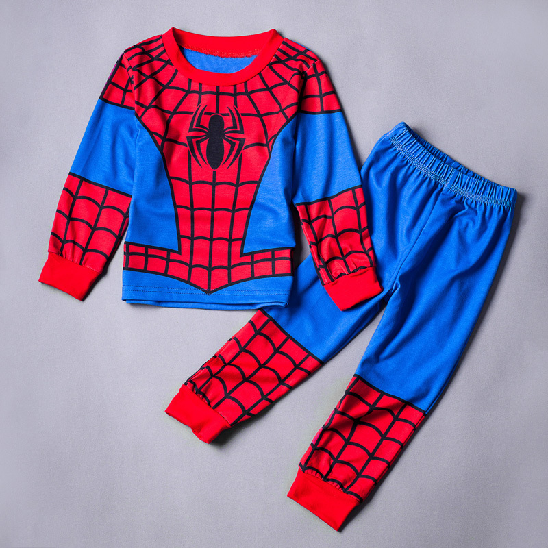 Kids Cartoon Superhero Pajamas Homewear Onesies Star Wars Captain America Spiderman Iron Man Thor Pajamas Marvel Avengers