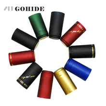 GUHD 20pcs/lot PVC Heat Shrink Sealing Cap Cover Wine Thickened Brewed Red Bottle Capsules