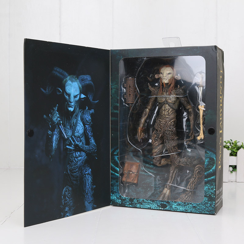 22cm Joint Movable Movie NECA Pans Labyrinth El Laberinto Del Fauno Faun PVC Action Figures Collectible Model Toy