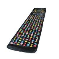 Medialbranch Colorful Plastic Foot Massager Pad Acupuncture Cobblestone Yoga Mat 175 35cm H7JP