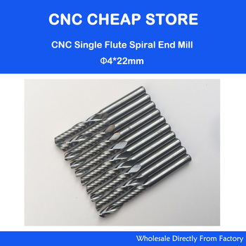 Free shipping 4mm carbide cnc router bits one flutes spiral end mills single flutes milling cutter.jpg 350x350