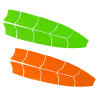 9 Pcs Paddle Board Traction Pad Deck Grip Pad DIY Replacement Deck Pad for Surfboard Longboard KiteboardSUP Multiple Colors