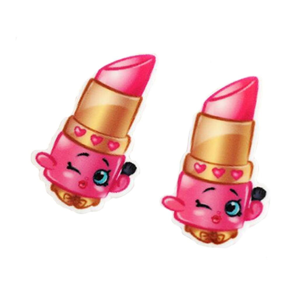 40 Sztuk Losowe Mieszane Cartoon Topers Cupcake Szminka Lody Cookie Planar  Żywica Kawaii Cabochons DIY Craft W 40 Sztuk Losowe Mieszane Cartoon Topers  ...