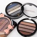 South America Coloring 5 Colors Mini Palette Eyeshadow Makeup Shimmer Eyeshadow Earth Color Cosmetic Makeup Set Nude Eye Shadow