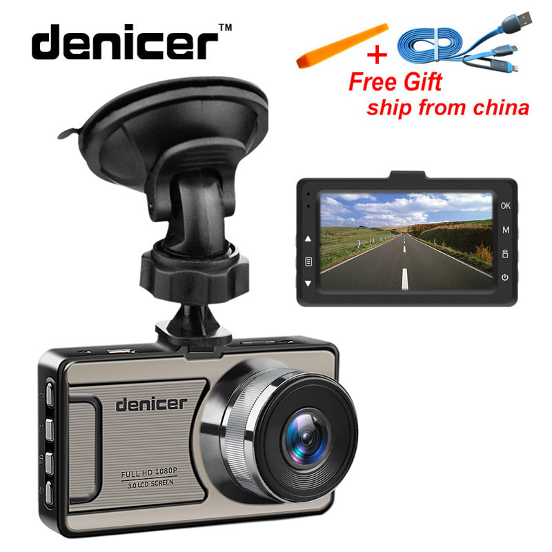 Novatek 96655 Car Dvr Camera Full HD 1080P Dash Camera 30Fps Video Registrator Car 170 Degree Dash Cam Night Vision Recorder Car junsun novatek 96655 car dvr camera video recorder full hd 1080p wireless wifi app manipulation imx 322 dash cam registrator
