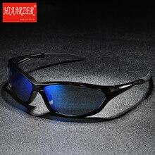 лучшая цена Top Quality Men Outdoor Sports Polarized Goggle Sunglasses Fishing Driving UV400 Luxury Brand Sun Glasses Oculos De Sol With Box