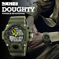 Skmei Luxury Brand Men Sports Watches S SHOCK Men S Watch LED Waterproof Quartz Military Watch