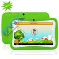 El Más Nuevo Niños Tablet PC de 7 Pulgadas Quad Core Android 5.1 RK3126 8 GB 1024x600 Capacitivo Niños Educación Juegos de MEDIADOS de Cumpleaños regalo