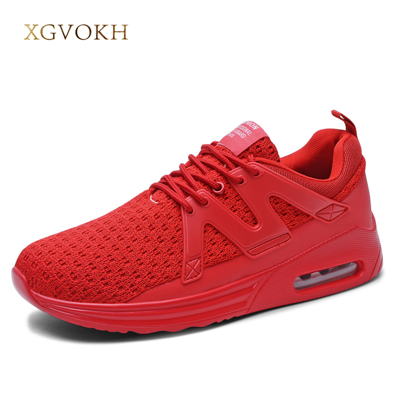 2018 Shoes Men Super Light Breathable Sneakers Air Cushion shoe Mesh tennis Flats Man Spring autumn Fashion zapatillas Hombres