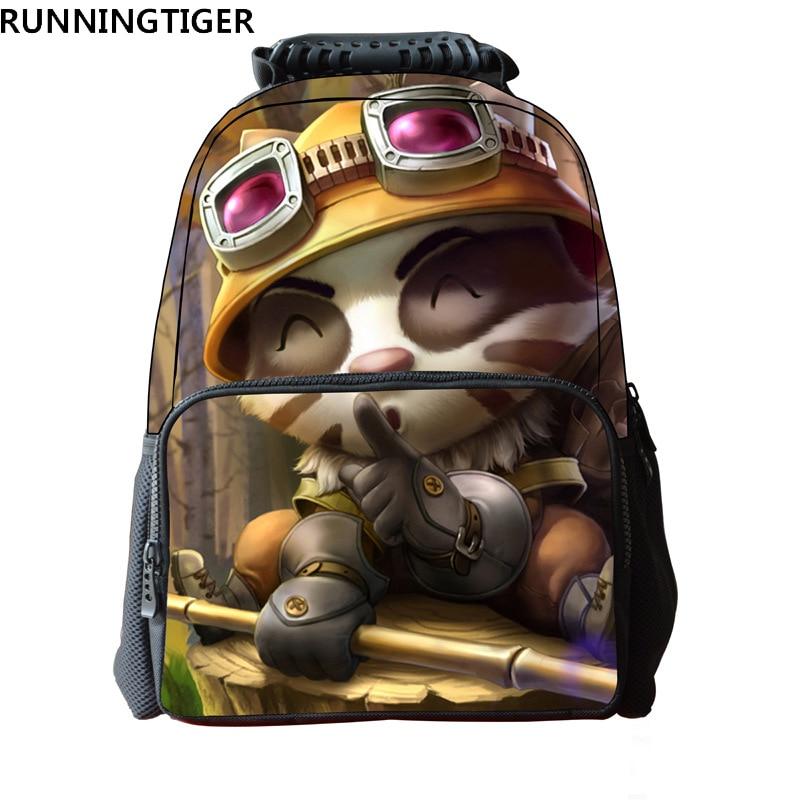 16-Inch backpack cartoon Popular School Bag Child waterproof bag ...