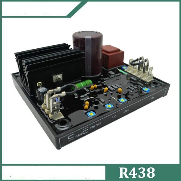 R438 Supply Brushless Generator Voltage Regulator AVR цена