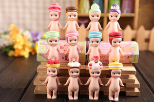 Image 3 - 8 CM Kawaii Macarons קינוח סוני מלאך פעולה איור בובות מקורי קישוטי צעצועי מהדורה מוגבלת מתנת ילדים 1 PCS באופן אקראי