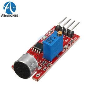 High Sensitive Microphone Sound Sensor Detection Power Supply Board For  Arduino AVR PIC 5V DC Analog Output Module e0be107693e