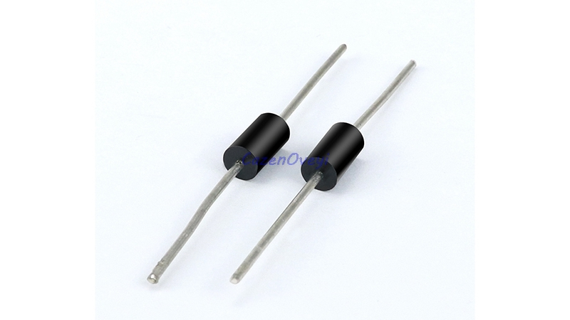 20pcs/lot <font><b>SB5200</b></font> SR5200 Schottky Barrier Rectifier Diode 5A 200V DO-201AD/DO-27 In Stock image