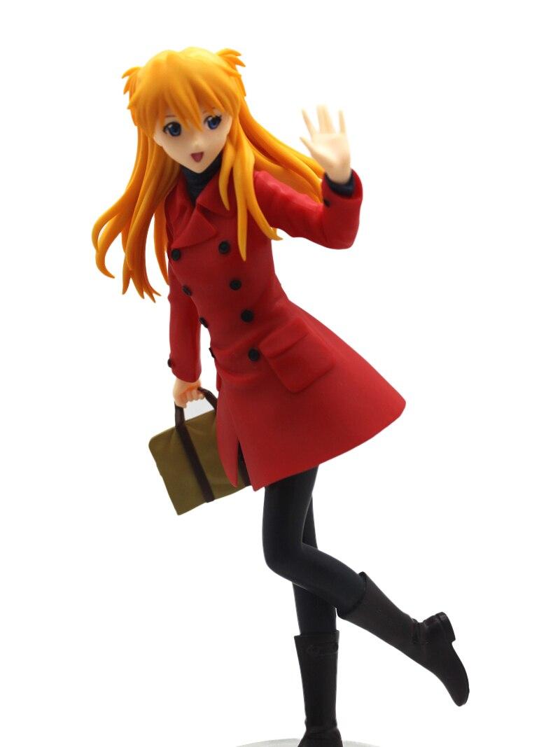Anime EVA Evangelion Premium Shikinami Asuka Langley PVC Figure Asuka Langley Soryu model 21cm japanese original anime figure neon genesis evangelion eva asuka langley soryu action figure collectible model toys