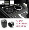 Cenicero del coche con caja de almacenamiento especial para BMW 1 3 5 Serie 7 F30 F13 F01 F10 F20 F25 F15 PARA BMW x3 x1 x5 x6 F48 COCHE accesorios