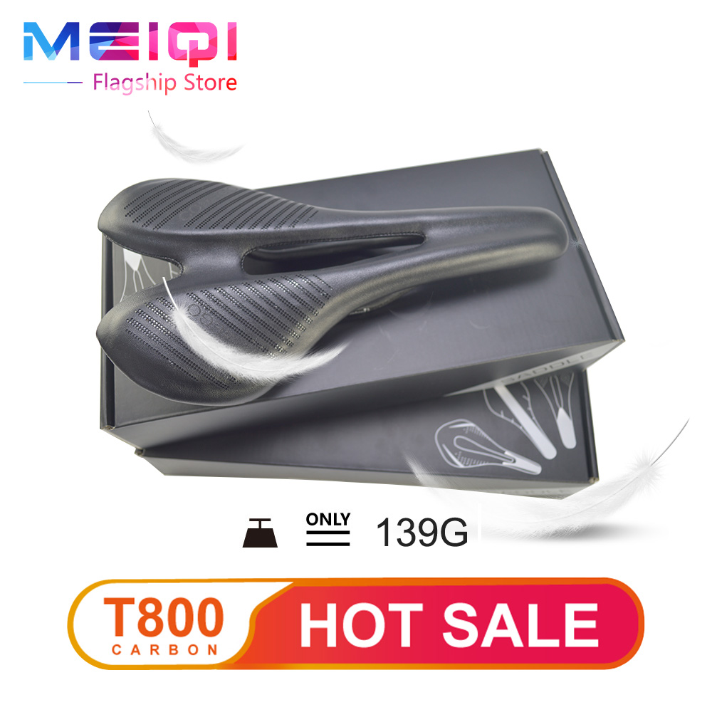 Hot Leather fiber Full Carbon Fiber Bicycle Saddle Breathable Comfort Cycling Seat MTB/Road Bike  Saddle Bicycle Parts cushion new arrival carbon saddle bicycle bike saddle seat road bike saddle sillin bicicleta sillin carbono sella carbonio