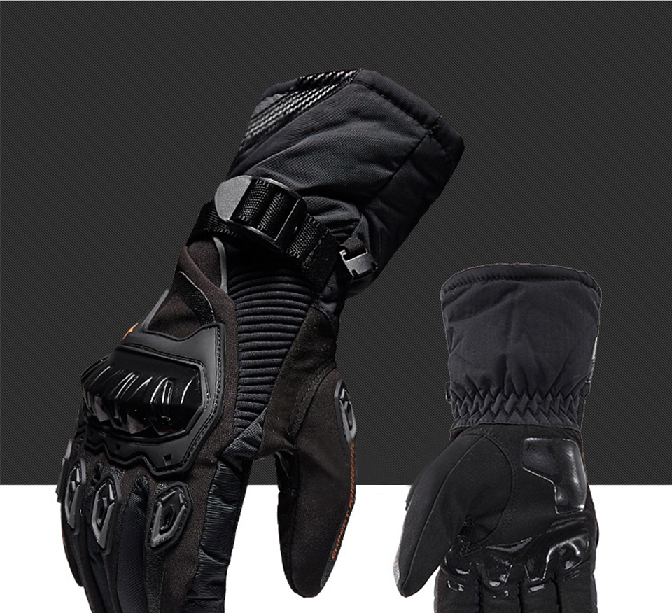 Foxcncar motorcycle gloves 100% Waterproof windproof Winter warm Guantes Moto Luvas Touch Screen Motosiklet Eldiveni Protective (28)