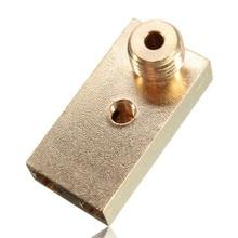 NEW Ultimaker 2 UM2 Nozzle + Heaterblock nozzle 0.4mm For 1.75MM Filament Print Head 3D printer accessory