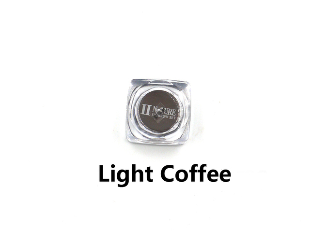 PCD Light Coffee Professional Eyebrow Micro Tattoo Ink Set Lips Microblading Permanent Makeup Pigment Colorfastness 1 Piece