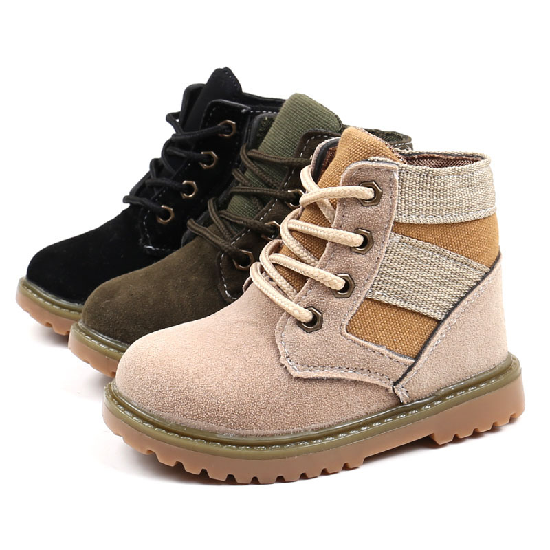 First Walkers Mother & Kids Winter Baby Boys Girls Shoes Winter Infants Warm Shoes Camo Canvas Girls Baby Booties Boy Baby Boots Slip-on Infant Baby Shoes