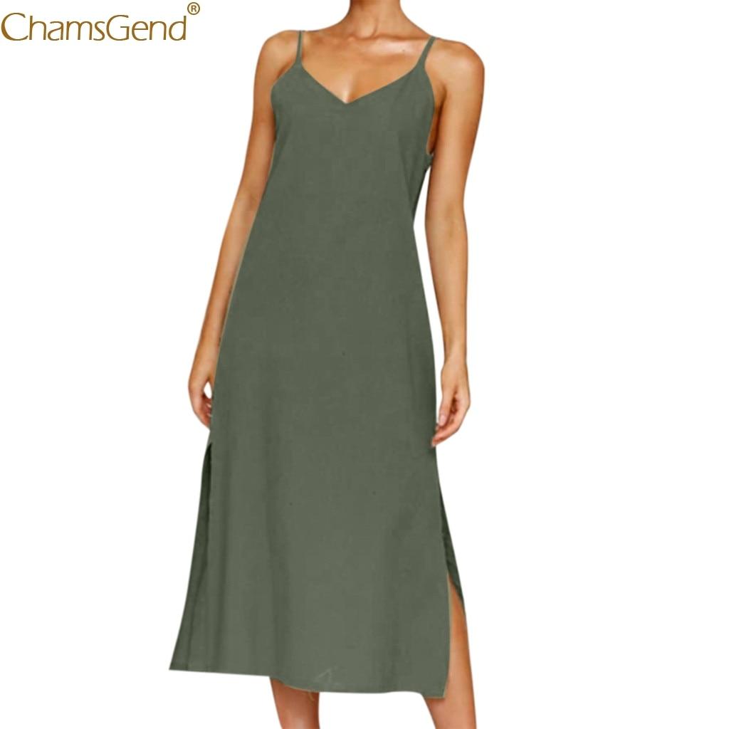 Sundress Sling Dress summer dresses women 2019 dresses woman party night plus size formal dress women elegant Button Women Mar9