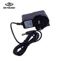 10PCS UK Plug 9V Effect Pedal Power Supply Adapter For JOYO Digitech BOSS Dunlop Mooer MXR SNARLING DOG ZOOM Guitar Effect Pedal