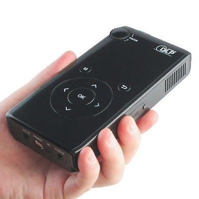 DLP600 portable Portable Mini HD LED Pico Multimedia LCD Game Phone DLP Projector Cinema Theater AV USB SD HDMI projector