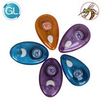 GL 2 шт./партия Антимоскитные Детские спальные ультразвуковые москитные репелленты Безопасный электронный отпугиватель от комаров без жидкости без химиката