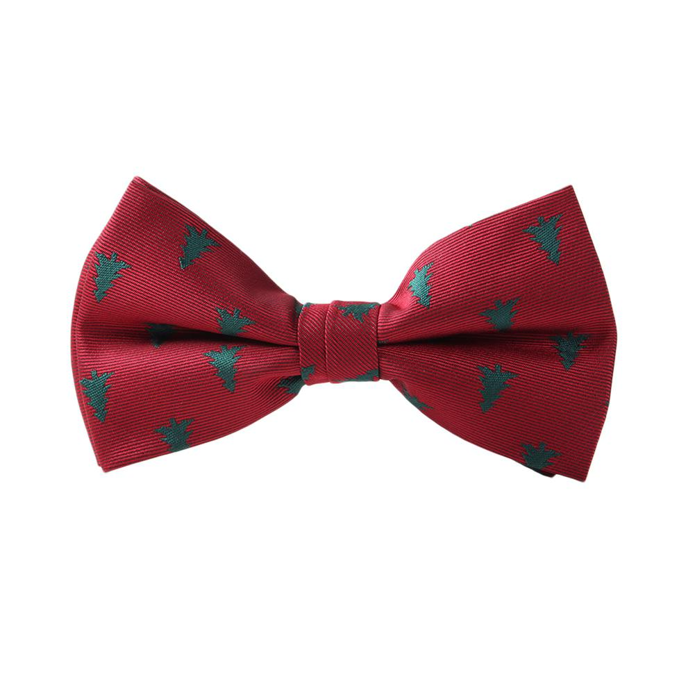 Apparel Accessories Missky Fashion Creative Men Christmas Pattern Pre-tied Bow Tie Elegant All-match Slim Neckties Clear Out Stork Profit Small