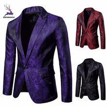 Charme männer Casual Einem Taste Fit Anzug Blazer Mantel Tops Blazer Mantel  Jacke Tops Slim Fit Graben Plus Größe männer 2018 Ma. 74f8eddb60