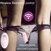 Dildo Underwear Vibrator Wireless Sex Toys for Women Remote Vibrating Panties Invisible Vibrator C String G Spot Stimulator