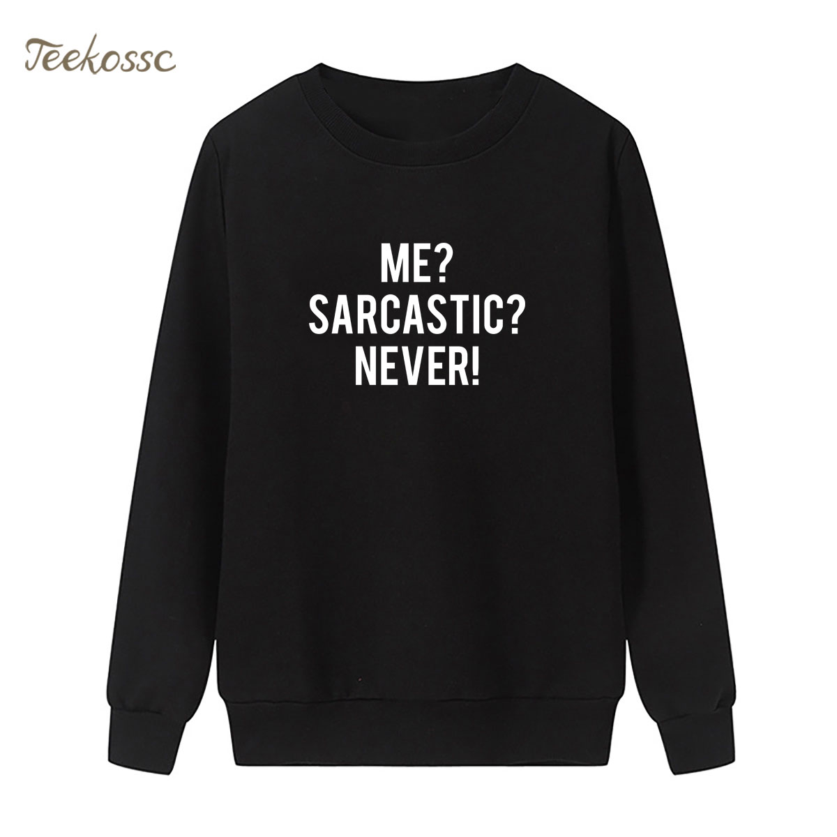 New Arrival Letters Print Sweatshirt Black White Hoodie 2018 Brand Winter Autumn Women Lasdies Pullover Loose Fleece Sportswear