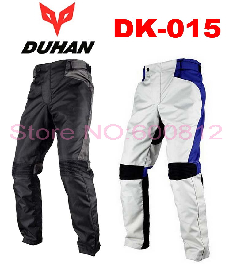 New DUHAN DK-015 Motorcycle racing suits Riding trousers Men's cross country Hockey Pants Motorcycle Rally Pant Oxford cloth 2015 new duhan dk 018 moto pants motorcycle jeans off road motorcycle riding pant drop resistance external protective gear