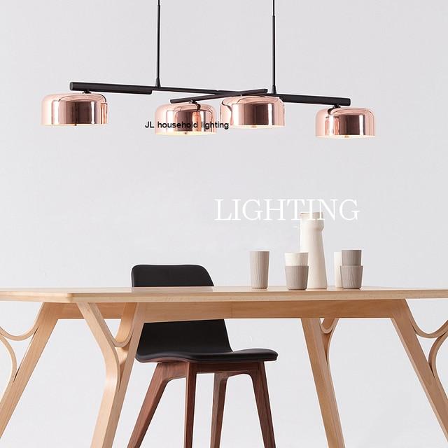 Uitzonderlijk Moderne draaibare metalen minimalistische hanglamp lamp bar ac90 JD73
