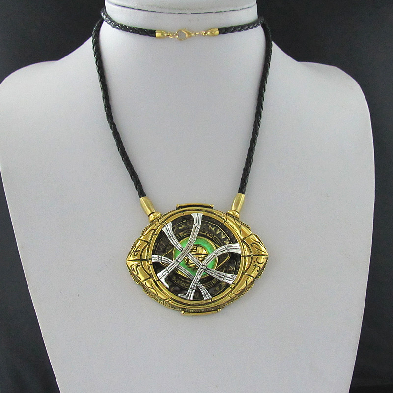 Cosplay Doctor Strange Necklaces  Christmas gift Alloy Necklaces Agamotto 2