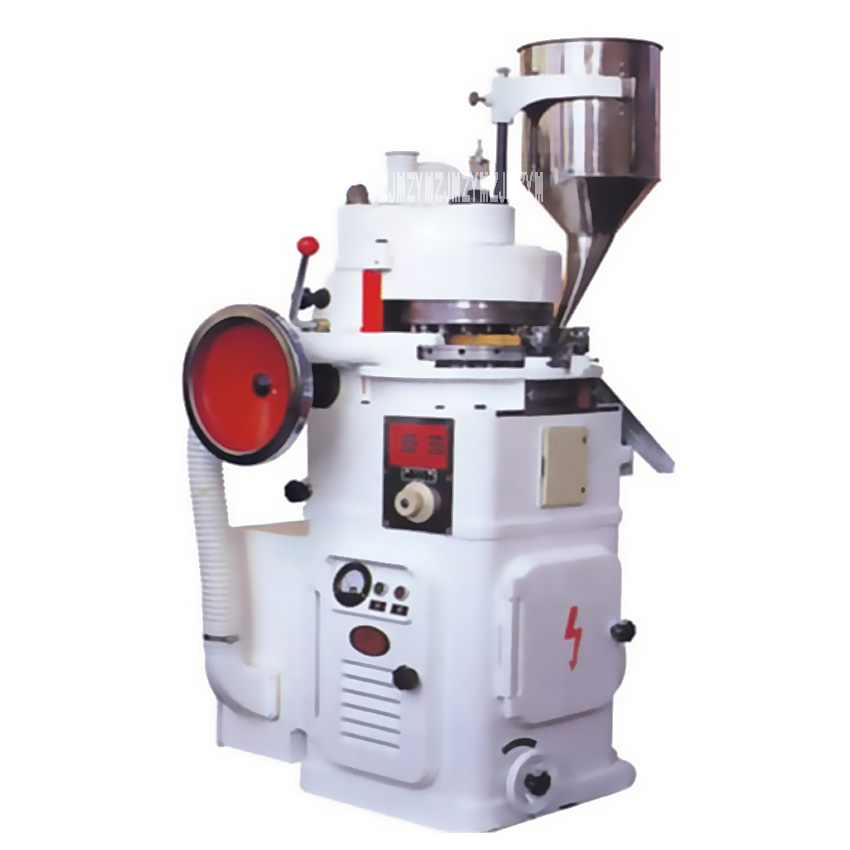 Shipping by sea ZP 19 Rotary Tablet Press Powder Forming Machine Powder Punching Machine Herbal Tablet Press 220V / 380V 2.2KW