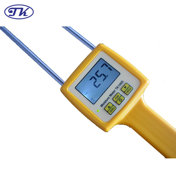 Portable Grain Moisture Meter TK100S (Corn,Wheat,Rice,Bean,Wheat Flour.)