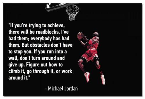 Kentucky Wildcats Wall Quotes Quotesgram: Michael Jordan Basketball Motivational Quotes Silk Poster