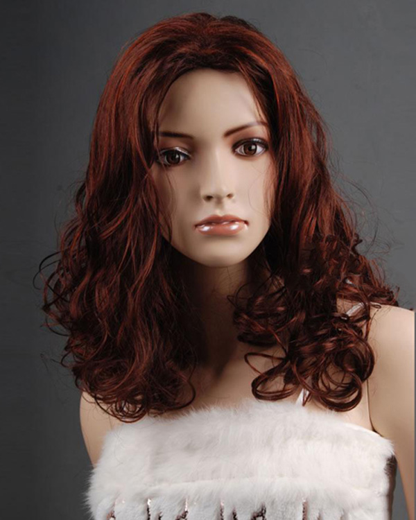 16 Inch Japanese Rinka Haircut Synthetic Curly Hair Wigs