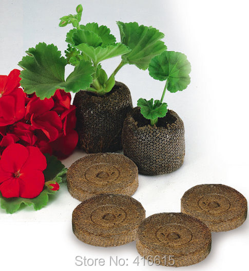 50 Count 25mm Jiffy Peat Pellets And Coco Pellets Seed Starting Plugs Seeds Starter Pallet Seedling Soil Block Professional