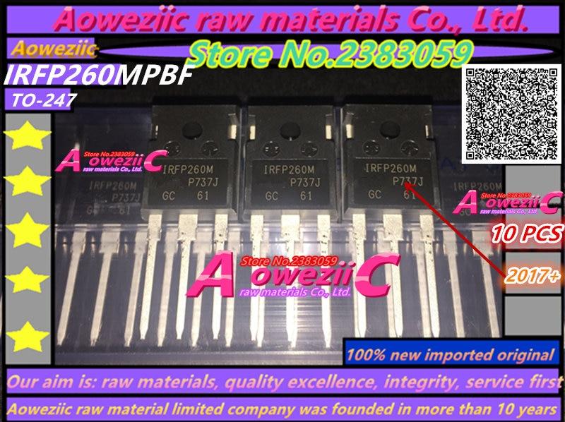 Aoweziic 2017+ 100% nový importovaný originální IRFP260M IRFP260MPBF TO-247 vysokovýkonový MOS tranzistor 50A 200V